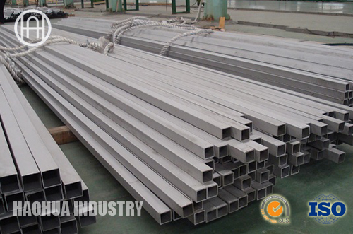 Stainless steel seamless rectangle pipes